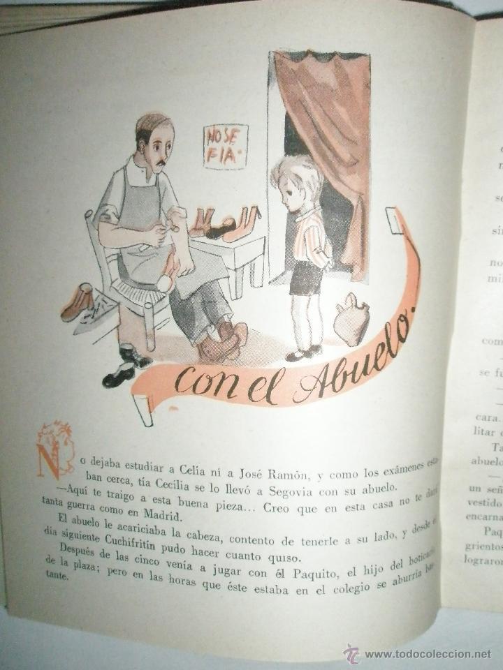 Libros de segunda mano: Fortún, E.: Cuchifritín, en casa de su abuelo. (1957) - Foto 4 - 39455350