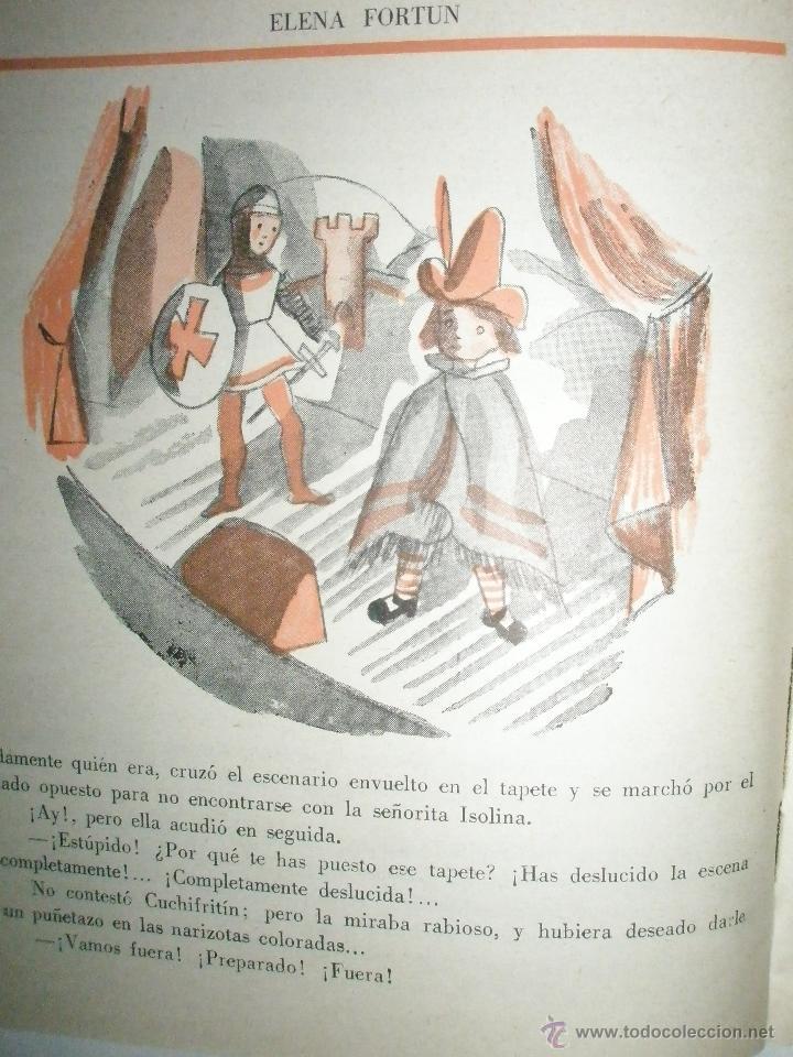 Libros de segunda mano: Fortún, E.: Cuchifritín, en casa de su abuelo. (1957) - Foto 5 - 39455350