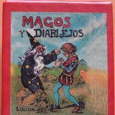 Libros de segunda mano: MAGOS Y DIABLEJOS CAJA DE CUENTOS DEL MAESTRO SATURNINO CALLEJA. Lote 39492208