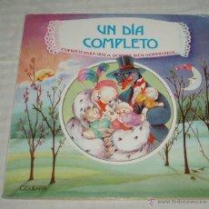 Libros de segunda mano: UN DIA COMPLETO CUENTOS PARA IRSE A DORMIR BIEN DORMIDITA. Lote 39547820
