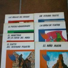 Libros de segunda mano: COLECCION ANTARES 7 DIFERENTES - TEYKAL EDICIONES 1982. Lote 39601622