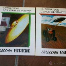 Libros de segunda mano: COLECCION ESPACIO 2 DIFERENTES - TEYKAL EDICIONES 1982. Lote 39601651