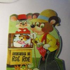 Libros de segunda mano: AVENTURAS DE ROE ROE EDICIONES RAYLU BARCELONA AÑO 1980. Lote 39600822
