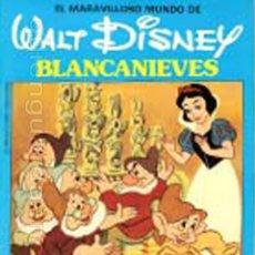 Libros de segunda mano: CUENTO BLANCANIEVES Nº 11 COLEC. EL MARAVILLOSO MUNDO DE WALT DISNEY BRUGUERA 1986 . Lote 39743637