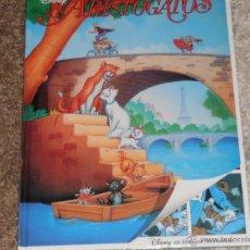 Libros de segunda mano: LOS ARISTOGATOS - DISNEY EN DIBUJOS ANIMADOS - TAPA DURA - 44 PAG - T -. Lote 39752917