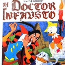 Libros de segunda mano - Cómic Doctor Infausto Disney cuento pato donald año 1973 - 39787841