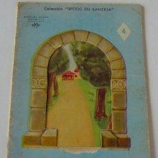 Libros de segunda mano: CUENTO COLEC.TIPITOS EN BANDEJA - AÑO 1952 - Nº4 - ILUST. SAMPER - ED.LINSA LIBROS INFANTILES S.A.. Lote 39828223