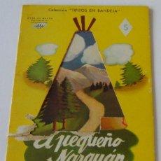 Libros de segunda mano: CUENTO COLEC.TIPITOS EN BANDEJA - AÑO 1952 - Nº5 - ILUST. SAMPER - ED.LINSA LIBROS INFANTILES S.A.. Lote 39828466