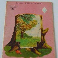 Libros de segunda mano: CUENTO COLEC.TIPITOS EN BANDEJA - AÑO 1952 - Nº6 - ILUST. SAMPER - ED.LINSA LIBROS INFANTILES S.A.. Lote 39828749