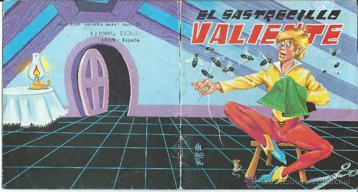 CUENTO EL SASTRECILLO VALIENTE COLECCION COMETA ROJA Nº 23 - EVEREST (Libros de Segunda Mano - Literatura Infantil y Juvenil - Cuentos)