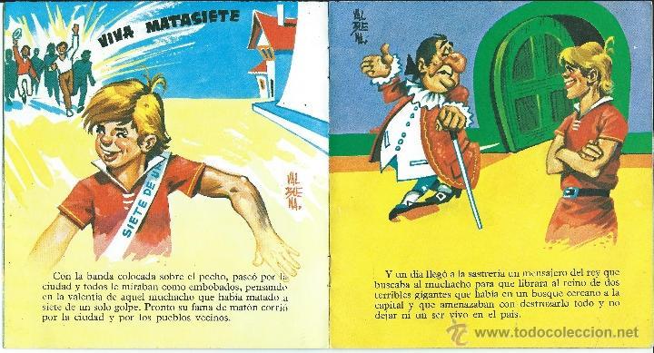 Libros de segunda mano: CUENTO EL SASTRECILLO VALIENTE COLECCION COMETA ROJA Nº 23 - EVEREST - Foto 2 - 39894176