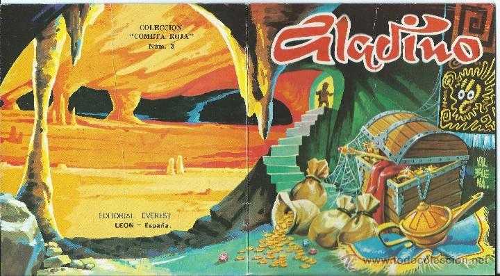 CUENTO ALADINO COLECCION COMETA ROJA Nº 3 - EVEREST (Libros de Segunda Mano - Literatura Infantil y Juvenil - Cuentos)