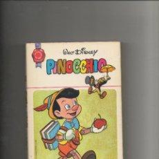 Libros de segunda mano: PINOCCHIO.COLECCION HOGAR FELIZ Nº11. WALT DISNEY. BRUGUERA.1969. Lote 39954965
