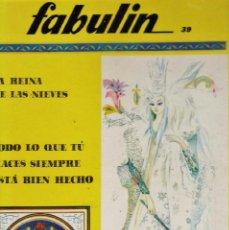 Libros de segunda mano: COLECCION FABULIN Nº 39-40 - GRAN FORMATO TAPAS DURAS - ED. CODEX - AÑOS 60 - RD3. Lote 39981922