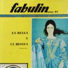Libros de segunda mano: COLECCION FABULIN Nº 63-64 - GRAN FORMATO TAPAS DURAS - ED. CODEX - AÑOS 60 - RD3. Lote 39982122