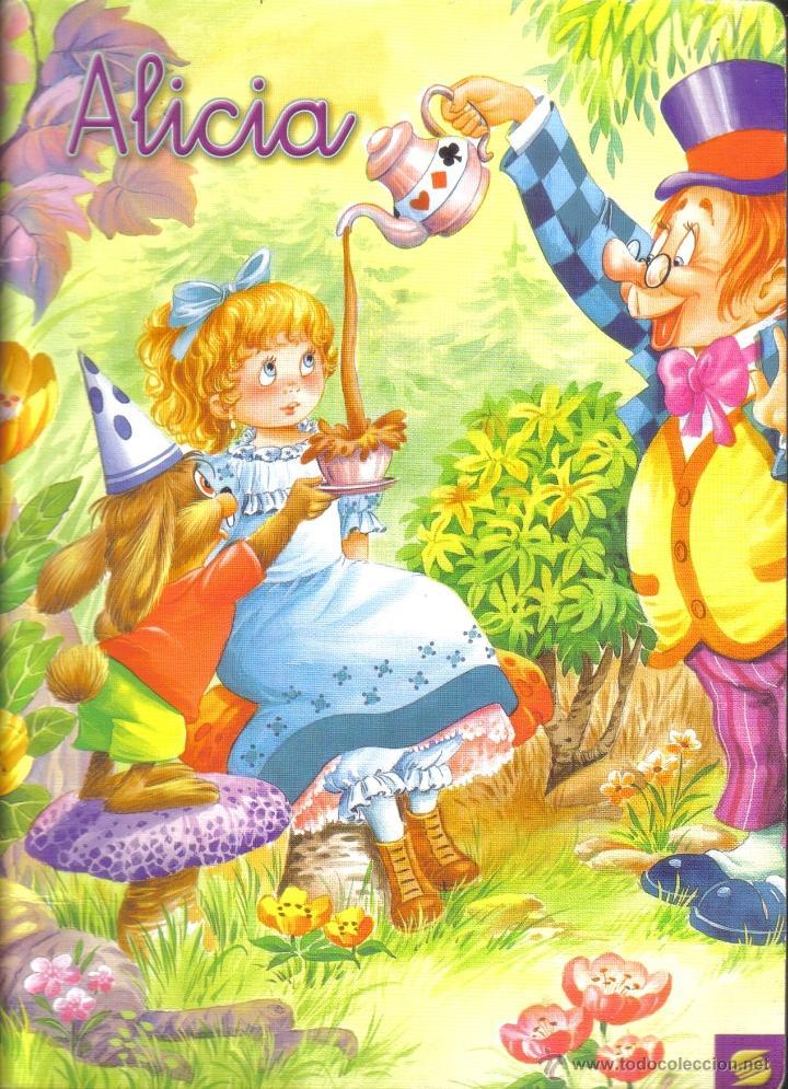 ALICIA. COLECCION ARLEQUIN. SUSAETA EDICIONES. LITERACOMIC. (Libros de Segunda Mano - Literatura Infantil y Juvenil - Cuentos)