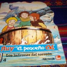 Libros de segunda mano: RUY EL PEQUEÑO CID Nº 4 LOS LADRONES DEL TORREÓN. FHER 1980. BEAUMONT. Y MUY DIFÍCIL. Lote 40176259