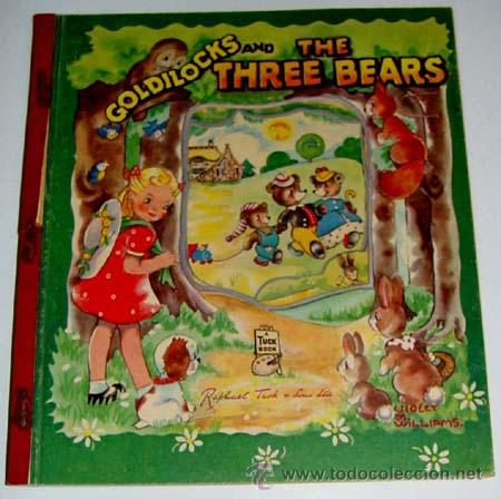 antiguo cuento pop up book ingles - goldilocks - Comprar Libros de ...