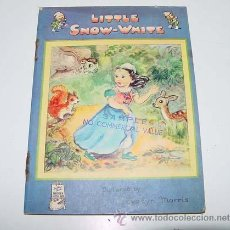Libros de segunda mano: ANTIGUO CUENTO INGLES - PEQUEÑA BLANCA NIEVES - LITTLE SNOW WHITE - PICTURED BY EVELY MORRIS - A FAT. Lote 38241554