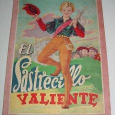 Libros de segunda mano: ANTIGUO CUENTO - EL SASTRECILLO VALIENTE - NAÑOS 40 . MIDE 34 X 24 CMS. 8 PAGINAS - 1940 -. Lote 38243109