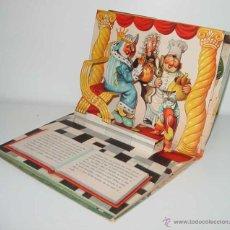 Libros de segunda mano: ANTIGUO CUENTO JUGUETE, SORPRESA, POP UP CHILDREN BOOK VINTAGE - EL GATO CON BOTAS - BANCROFT CO. WE. Lote 38246587