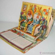 Libros de segunda mano: ANTIGUO CUENTO JUGUETE, SORPRESA, POP UP CHILDREN BOOK VINTAGE - LA BELLA DURMIENTE - BANCROFT CO. W. Lote 157030360