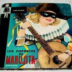Libros de segunda mano: ANTIGUO CUENTO JUGUETE O POP UP CHILDREN BOOK - LIBRO MUÑECO - LOS DISFRACES DE MARUJITA - NARRACION. Lote 38250120