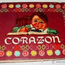 Libros de segunda mano: ANTIGUO CUENTO POP UP BOOKS CORAZON ADAPTACION DE HECTOR SANCHEZ PUYOL, ILUSTRACIONES DE ENZO N. Lote 102594087