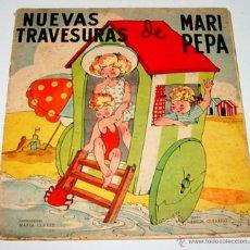 Libros de segunda mano: ANTIGUO CUENTO DE MARI PEPA - NUEVAS TRAVESURAS DE MARI PEPA - ILUSTRACIONES DE MARIA CLARET - TEXT. Lote 38266736
