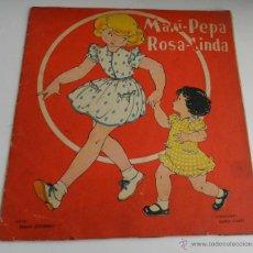 Libros de segunda mano: ANTIGUO CUENTO DE MARI PEPA - MARI PEPA ROSA LINDA - ILUSTRACIONES DE MARIA CLARET - TEXTO DE EMILIA. Lote 38278224