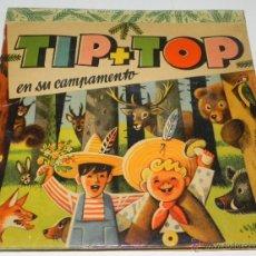 Libros de segunda mano: ANTIGUO CUENTO POP UP O CUENTO JUGUETE - CON DIORAMAS - TIP + TOP EN SU CAMPAMENTO - 12 PAGINAS, DE. Lote 38278981