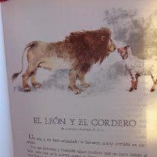 Libros de segunda mano: PRECIOSO LIBRO LEONARDO DA VINCI FABULAS Y LEYENDAS Y FÁBULA DE RAFAEL ALBERTI. Lote 40381764