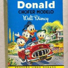 Libros de segunda mano: DONALD CHOFER MODELO WALT DISNEY EDIGRAF. Lote 40564435