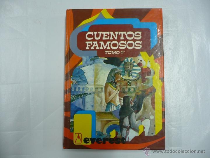 CUENTOS FAMOSOS - TOMO 1 1º - ED. EVEREST - ILUSTRACIONES TEO - TAPAS DURAS TDK158 (Libros de Segunda Mano - Literatura Infantil y Juvenil - Cuentos)