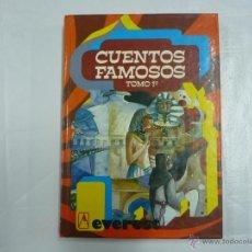 Libros de segunda mano: CUENTOS FAMOSOS - TOMO 1 1º - ED. EVEREST - ILUSTRACIONES TEO - TAPAS DURAS TDK158. Lote 136092786
