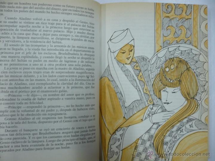Libros de segunda mano: CUENTOS FAMOSOS - TOMO 1 1º - ED. EVEREST - ILUSTRACIONES TEO - TAPAS DURAS TDK158 - Foto 2 - 136092786