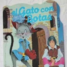 Libros de segunda mano: CUENTO TROQUELADO EL GATO CON BOTAS (COLECCION MARAVILLA Nº2) - EDITORIAL GRAFALCO S.A.. Lote 40740976