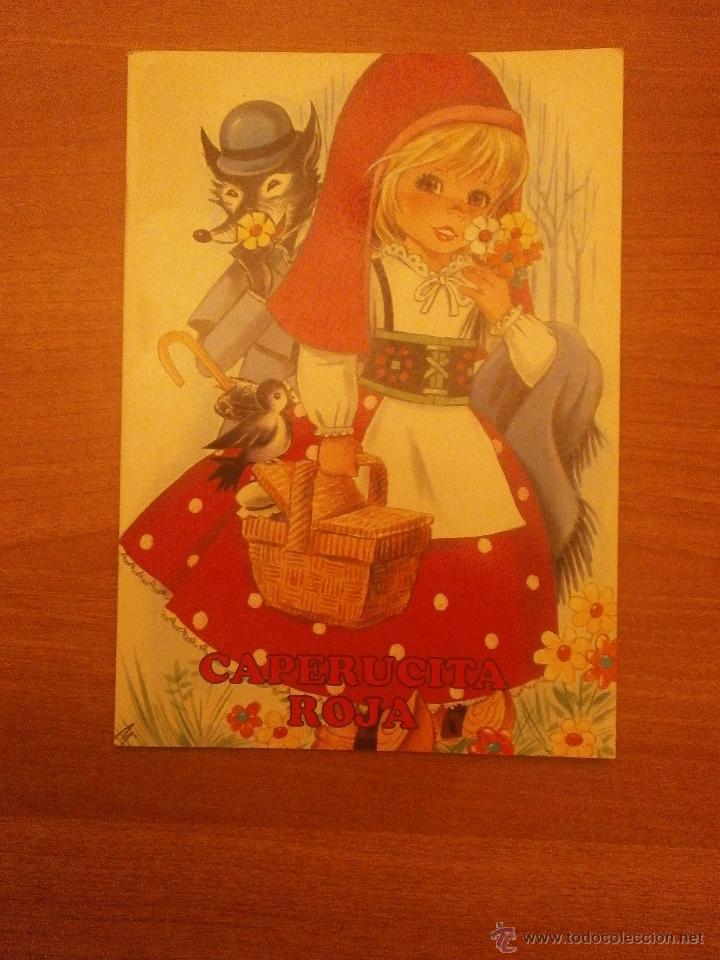 CUENTO CAPERUCITA ROJA --- COLECCION APOLO (Libros de Segunda Mano - Literatura Infantil y Juvenil - Cuentos)