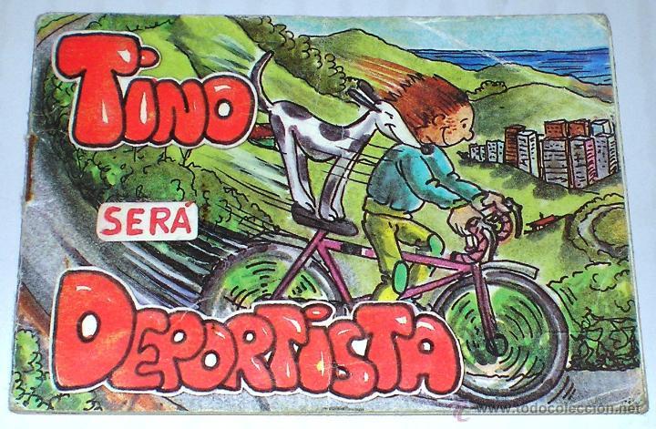 CUENTOS DE TINO: TINO SERÁ DEPORTISTA. (Libros de Segunda Mano - Literatura Infantil y Juvenil - Cuentos)