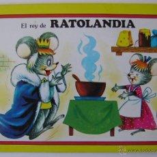 Libros de segunda mano: CUENTO PANORAMICOS EL REY DE RATOLANDIA EDITORIAL ROMA. Lote 40994244