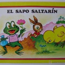 Libros de segunda mano: CUENTO PANORAMICOS EL SAPO SALTARIN EDITORIAL ROMA. Lote 40994268