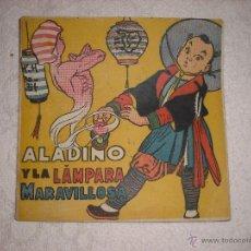 Libros de segunda mano: ALADINO Y LA LAMPARA MARAVILLOSA Nº 9 AMELLER ED.. Lote 41087754