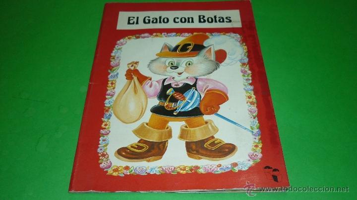 EL GATO CON BOTAS. TROQUELADO POP-UP O DIORAMA. ED. SALDAÑA. AÑO 1984 (Libros de Segunda Mano - Literatura Infantil y Juvenil - Cuentos)