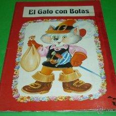 Libros de segunda mano: EL GATO CON BOTAS. TROQUELADO POP-UP O DIORAMA. ED. SALDAÑA. AÑO 1984. Lote 41094231