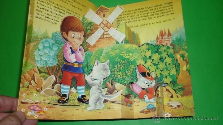 Libros de segunda mano: EL GATO CON BOTAS. Troquelado POP-UP o diorama. Ed. Saldaña. Año 1984 - Foto 2 - 41094231