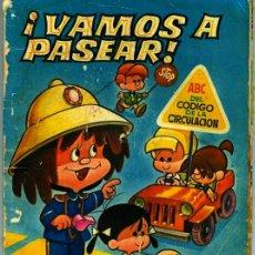 Libros de segunda mano: ¡VAMOS A PASEAR ! CON LA FAMILIA TELERIN - 1965 ORIGINAL NO REEDICIÓN. Lote 57928029