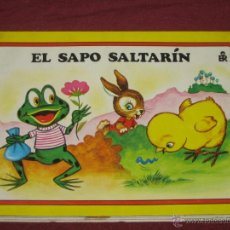 Libros de segunda mano: CUENTOS VISION.. CUENTOS PANORAMICOS.. Nº 4 EL SAPO SALTARIN. EDI ROMA 1985. Lote 41233832