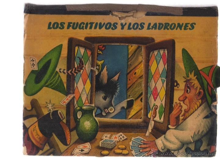 LOS FUGITIVOS Y LOS LADRONES - LIBRO TROQUELADO EN RELIEVE - CJ9 (Libros de Segunda Mano - Literatura Infantil y Juvenil - Cuentos)