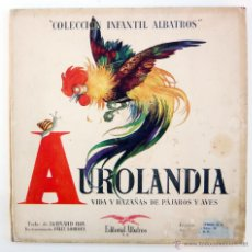Libros de segunda mano: AUROLANDIA / B. ROY / ED. ALBATROS 1946 / 1ª EDICIÓN / ILUSTRADO POR LORIOUX / RARO. Lote 41302315