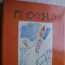 Libros de segunda mano: PINOCCHIO: LAS AVENTURAS DE PINOCHO. COLLODI, CARLO; PALADINO MIMMO. 2005. Lote 41406486